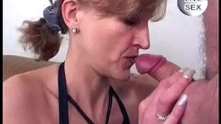 Granny anal and facial