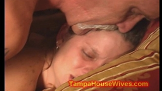 Teen hotwife used by her obscene dad