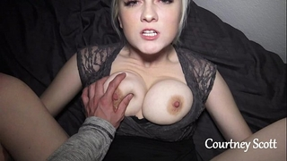 Brothers horny white wife copulates me on camera (courtney scott)