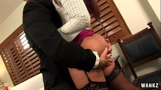 Hardcore romance with boss - savannah fox