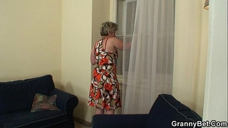 Lonely granny acquires fucked by a absolutely stranger
