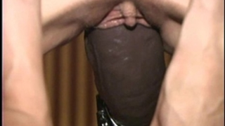 Busty non-professional drilled non stop by a brutal marital-device machine
