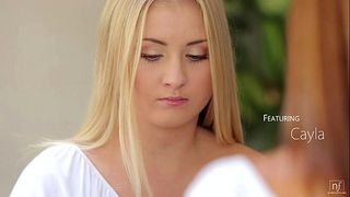 Nubile films - lesbo craving makes incredible orgasms