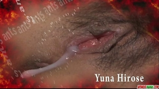 Redhead oriental sweetheart yuna hirose gagging a pulsating weenie and fucked