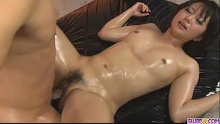 Horny honey fur pie caressed and drilled hard in three-some