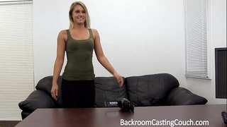 Fit sweetheart assfucked n creampie on casting ottoman