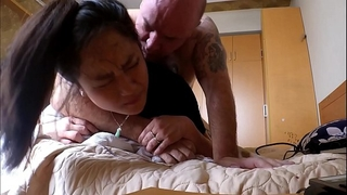First anal for oriental milf but i lost some sound