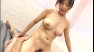 Hot tub sex with an oriental pair