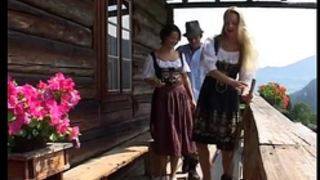 Busty german sweethearts make male tourists feel like in heaven