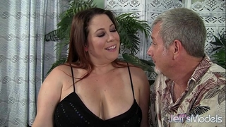 Chubby milf rubee receives her corpulent bawdy cleft filled