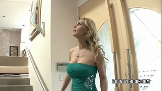 Mature doxy tanya tate bonks and takes the cum on her scones
