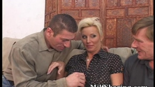 Horny pair fulfills swinger dream