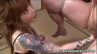 Asian servitude honey is fisted