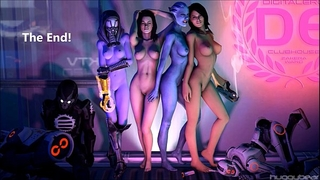 Mass effect angels hot gifs