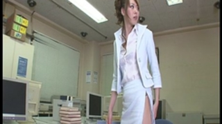 Fondled and screwed from behind in the office