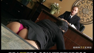 Submissive office assistant missy martinez lastly copulates her boss