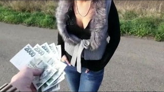 Nasty dilettante eurobabe zuzana chocolate hole screwed for cash