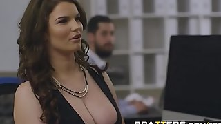 Brazzers - big pointer sisters at work - (tasha holz, dann...