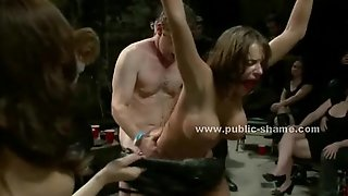 Whore forced to be an extraordinary sex slave