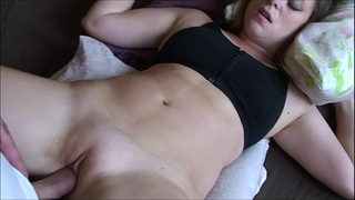 Stepbrother cums in my bedroom - erin electra (clip)