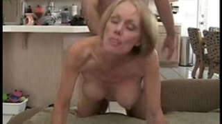 Son creampie to mama in hotel