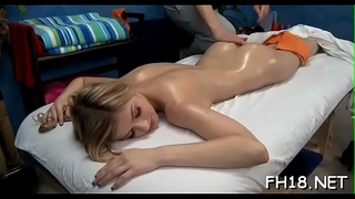 Watch as those cute 18 year old beauties acquire a surprise glad ending by their massage therapist!