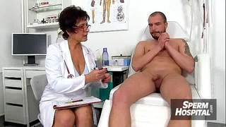 Cfnm cook jerking at hospital feat. nylons wife danielle