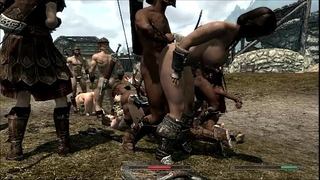 Skyrim cuties in trouble