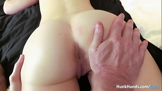 Bubble gazoo british chick squirts all over the hotel couch in real massage! non-professional pov!