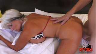 My girlfriends mama ii balls unfathomable in her chocolate hole sally d'angelo