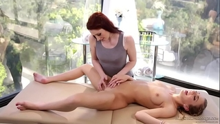 Special tickle massage with tiffany watson and violet monroe