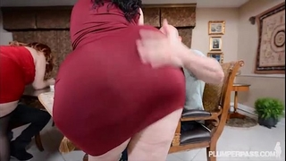 two bbw pawgs take on some biggest rods
