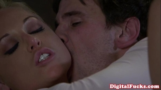 Blonde porn sweetheart kayden kross facialized
