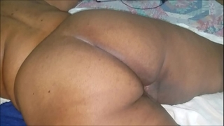 Sleeping stepmom receives awaken to a creampie
