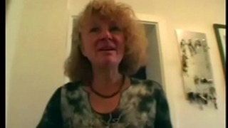 Horny granny copulates her guests